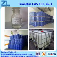 China Triacetin(Glycerol Triacetate) CAS 102-76-1 Liquid Highly Used In Flavors Fragrances Industries on sale