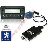 Buy cheap Peugeot RD3 RM2 RB2 USB SD AUX MP3 Interface Adapter (YATOUR Car Digital CD Changer) product