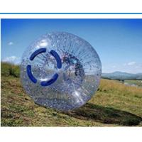 China Fire Resistant Inflatable Zorb Ball , Human Grass Zorb Ball UV Protective on sale