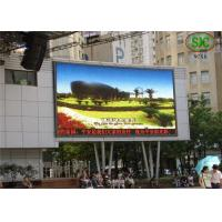 Horizontal 120° Viewing Angle tri color Outdoor LED Video Display Billboards / LED sign panels