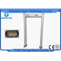 China 18 Zone Door Security Guard Metal Detector Airport Body Scanner With High Sensitivity on sale