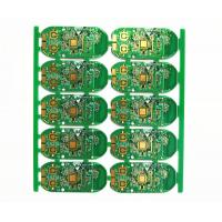 Buy cheap Customized HDI Printed Circuit Board Assembly 6 Layers Green Soldmask White Silcreen product