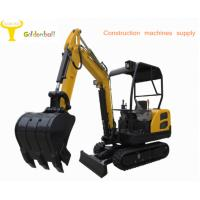 Buy cheap Good performance small size hydraulic excavator with rubber reack product