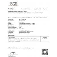 Shenzhen Vdear Technology Co., Limited Certifications