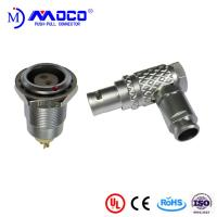 M9 2 pin right angle male and female push pull connectors for Thermal imaging camera