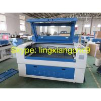 Buy cheap W4 power laser wood cutting machine price and fabric laser cutting machine with honeycomb table product