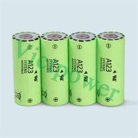 Buy cheap A123 ANR26650M1B 2500mAh rechargeable lifepo4 battery cells product