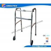 Buy cheap Collapsible Aluminum Alloy Rolling Folding Rollator Walker Paddle with Two Castors product