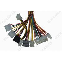 Buy cheap Universal 6 Pin Electric Wire Harness 20AWG Coaxial Cable Assembly For Power Supply product