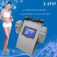 Quality 6 in 1 portable vacuum rf cavitation laser lipo slimming machine for sale