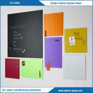 Buy cheap Tailles faites sur commande, panneau d'écriture en verre coloré SANS magnétique product