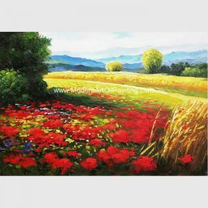 Impressionist  Palette Knife Oil Painting Landscape Handmade on Canvas