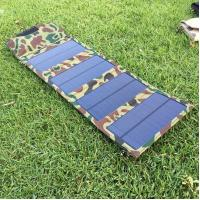 Quality 6W Mini Solar Panel Cell Phone Charger, 5V Outdoor Portable Solar Energy Phone Charger for sale