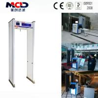 Buy cheap Airport Walk Through Metal Detector Gate MCD - 800A / C for Security Check from wholesalers