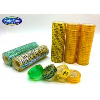 Buy cheap Branded High Tack Office Stationery Bopp Tape In Good Adhesion product