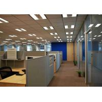 Buy cheap Tempered Glass Conference Room Walls , Glass Office Dividers Light Weight product