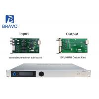 MPEG - 2 H 264 High Density Professional Receiver Multiplexer Up To Eight Channels