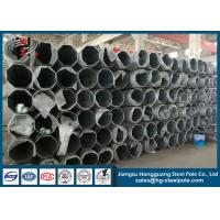 Buy cheap 68KV Philippines Steel Tubular Pole For Transmission Line Project product