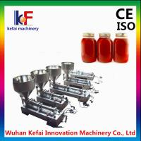 Buy cheap Manual bottled piston viscous liquid dispensing filling machine product