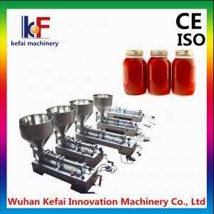 Manual bottled piston viscous liquid dispensing filling machine