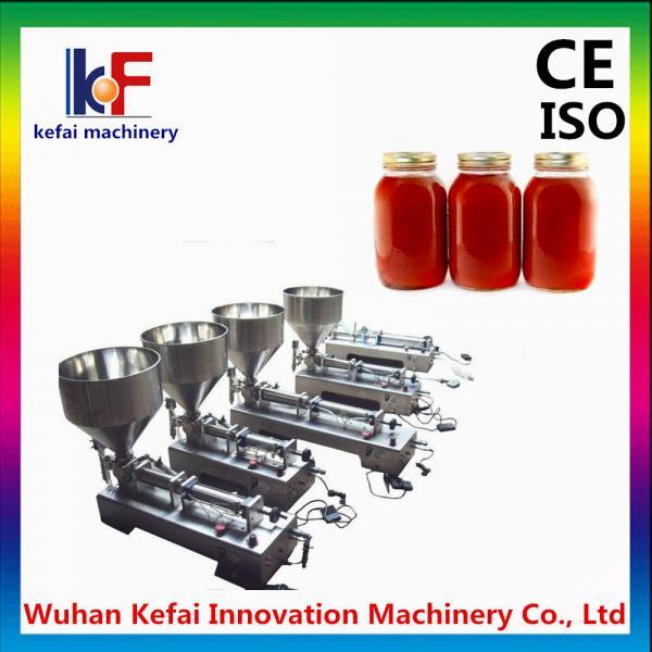 Quality Manual bottled piston viscous liquid dispensing filling machine for sale