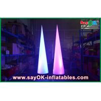 China Light Circular Cone Inflatable Lighting Decoration For Advertising on sale