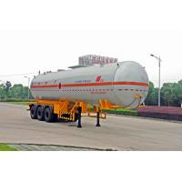 Buy cheap Transportation Fuel Petroleum / Gas Tank Truck Capacity 58300L / Semi Trailer product