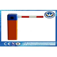 Buy cheap Manual Vehicle Barrier Gate with RS485 Communication Module Straight Boom product