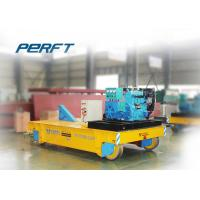 Buy cheap 15T trackless handling bogie Material Transfer Cart used in works for mold handling product