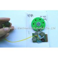 China Christmas Greeting Card Sound Module , sound chips for stuffed animals on sale