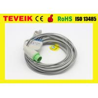 Buy cheap Biolight M9500 Round 12pin ECG Cable For Patient Monitor, 5leads TPU from wholesalers