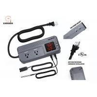 Buy cheap Temperature Controller with Dual Temperature Sensor AC Dual Stage Outlet Thermostat with 12 Period Time Stage 1800W ETL product
