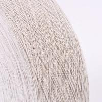 China Ne10s/1 50%cotton 50%polyester of grey open end recycled cotton carpet yarn on sale