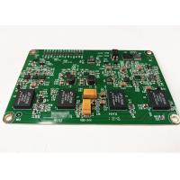 Buy cheap Electronic Prototype PCB Assembly FR4 Material Green Soldermask Immersion Gold / HASL product