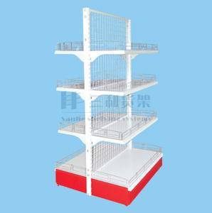 Buy cheap Facilmente dobro líquido traseiro de múltiplos propósitos do conjunto - prateleira metálica lateral de Supermaket product