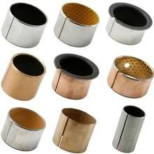 Buy cheap 70N/mm² Wear Resistant Steel Backed PTFE Lined Bushings product