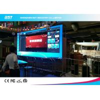 Buy cheap P4mm Indoor Indoor Advertising LED Display Full Color High Brightness Ultra Thin Design product