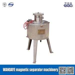 Buy cheap Diâmetro do separador 1.5KW 160mm do inclinação alto/equipamento magnéticos molhados separação da pasta product