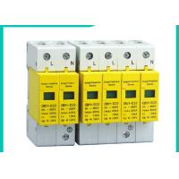 Buy cheap 10~100kA Din Rail Surge Protector SPD , 220V/380V 3 Phase Surge Protection Devices product