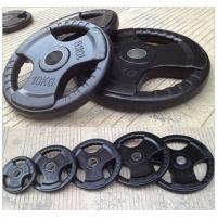 Buy cheap Gym Lifting Power training Fitness Accessories  Rubber Coated Weight Plates product