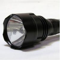 Buy cheap Rechargeable, aluminum, 5 - 15 volts,  1000 lm cree high powered led flashlight product