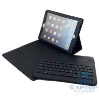 Buy cheap Removable Bluetooth Keyboard with Leather Case Cover for iPad Air product