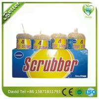 Buy cheap galvanized wool ball/mesh scourer for cleaning as kitchen sink cleaning tool price product