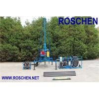 Buy cheap Mountain Regions Borehole Drilling Machine , Hydraulic Drilling Rig Easy To Assembling product