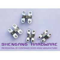 Buy cheap Cabinet Style Hidden Door Hinges , Single Action Invisible Heavy Duty Stainless Steel Hinges from wholesalers