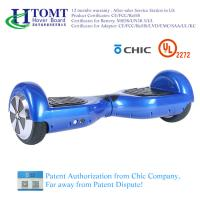 2 Wheel Self Balance Scooter Hoverboard With 6.5 Inch Wheel Bluetooth Speaker with Chic License