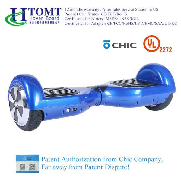 """Quality """"trotinette"""" Hoverboard do equilíbrio do auto de 2 rodas com o orador de Bluetooth da roda de 6,5 polegadas com licença chique for sale"""