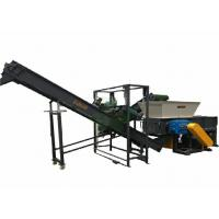 Buy cheap 2 Shaft Scrap Aluminum Shredder Equipment With 50pcs Blades CE Certification product