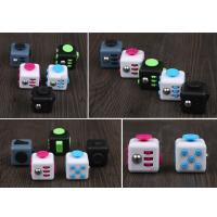 China Venting Prrssure Stress Anxiety Release Fidget Cube Toys 3.3cm , Magic Fidget Cube wholesale