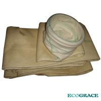 Buy cheap Polyster Fabric Dust Nomex Filter Bag For Steel Mill / Refractory Plant product